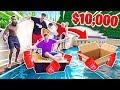 Last to Sink Wins ,000 - 2HYPE DIY BOAT CHALLENGE!