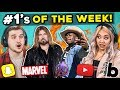 College Kids React To 10 Things That Were #1 This Week