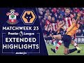 Southampton v. Wolves | PREMIER LEAGUE HIGHLIGHTS | 1/18/2020 | NBC Sports