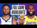 WARRIORS at LAKERS | FULL GAME HIGHLIGHTS | October 19, 2021