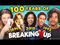Generations React To 100 Years Of Celebrity Breakups