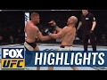 Alexander Gustafsson vs. Glover Teixeira | UFC FIGHT NIGHT HIGHLIGHTS