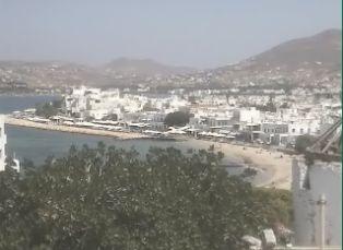 Bay of Parikia, Paros City (Greece)